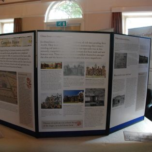 Display Boards about Campden House