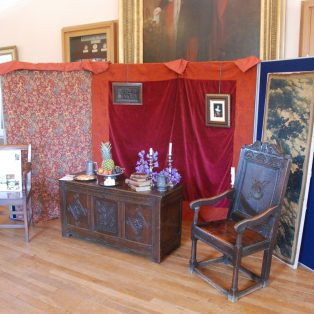 Display to illustrate the purpose of the banqueting houses | Mary Fielding