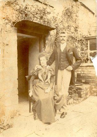 HG Ellis & Martha Prince on their wedding day