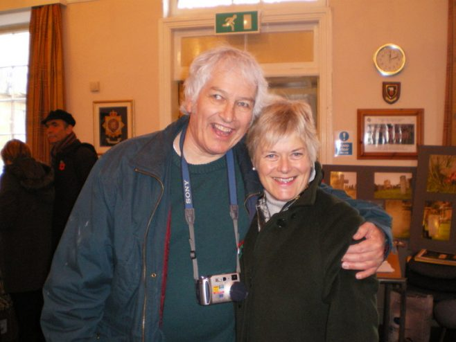 Gordon Greenall & Di Smith at Paul Hughes' Book Launch | Tess Taylor