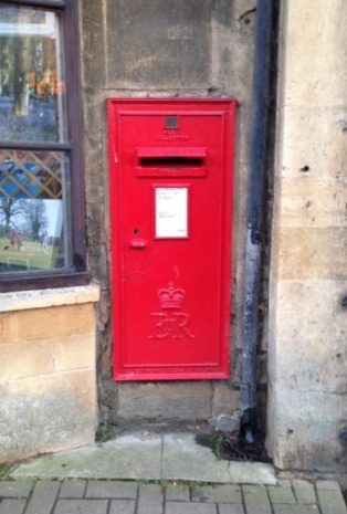 High Street postbox