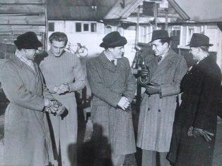 Five German POWs