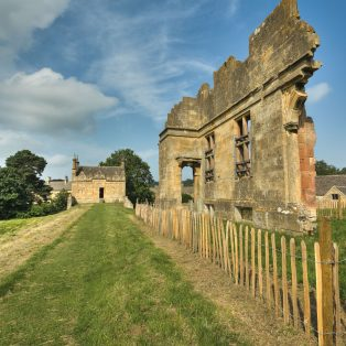 Terrace of old Campden House with remains of house | Wendy Chapman