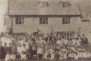Mr Watkinson's party for the schoolchildren at Maidenwell