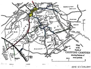 map of Chipping Campden