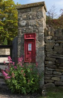 Second oldest post box, installed in Westington in 1896