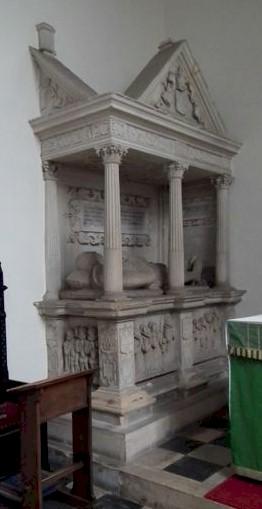 Sir Thomas Smyth tomb, Campden Church