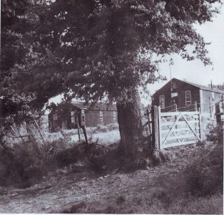 The Nissen huts used for the Italian POWs WWII