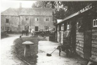 Westington Mill 1930s, farmyard | Jesse Taylor