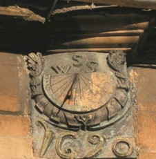 Sundial in High Street
