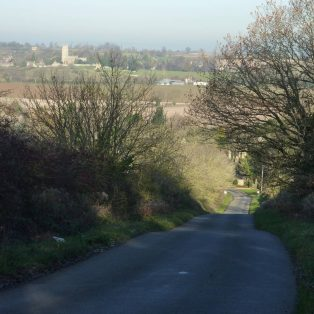 Broad Campden Hill from the top