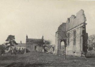 Campden House ruins