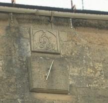 sundial on Crosby House