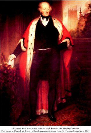 Portrait of Hon. Gerard Noel