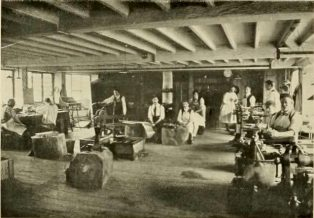 The Guild of Handicraft at the Silk Mill