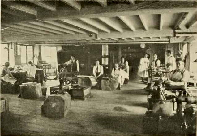 The Guild of Handicraft workshop