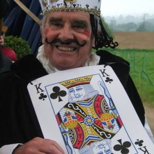 Philip Ord as King of Clubs 2012