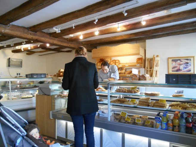 Now 'Le Tradition', selling French bread and pastries   Aaron Rigg
