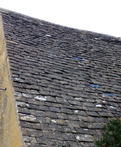 stone tile roof