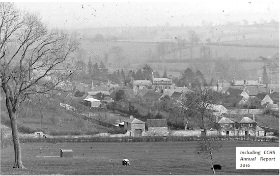 View of Back Ends from The Hoo, 1930s